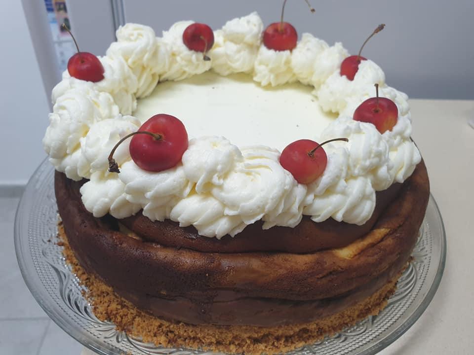 עוגת גבינה בחושה ❤_מתכון של ירדנה ג'נאח – מאסטר מתכונים