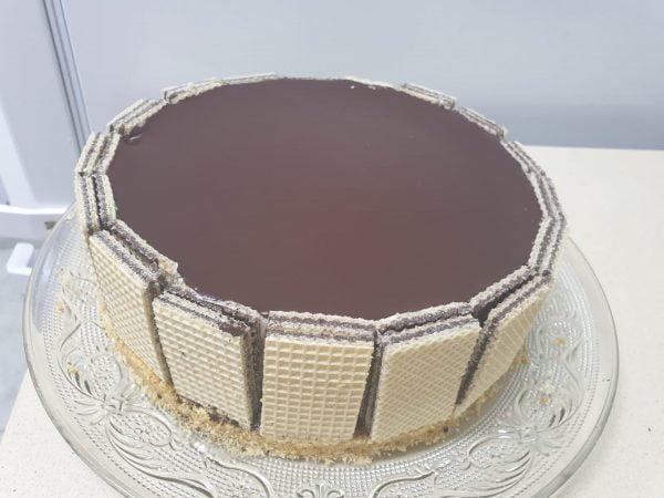 עוגת מוס לבן_מתכון של ירדנה ג'נאח – מאסטר מתכונים