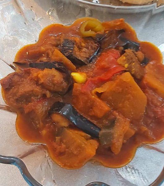 חצילים מבושלים חריפים_מתכון של רוז טעים במטבח אוחנה – מאסטר מתכונים