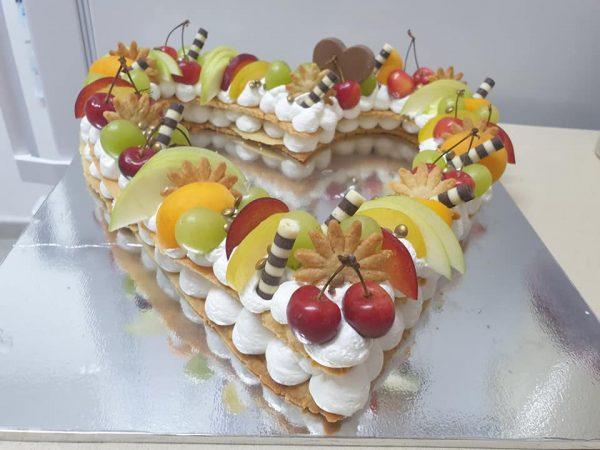 עוגת מספרים לב ❤_מתכון של ירדנה ג'נאח – מאסטר מתכונים