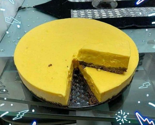 עוגת קרם מנגו ( עוגה קרה )_מתכון של אבי אלמדוי – מאסטר מתכונים
