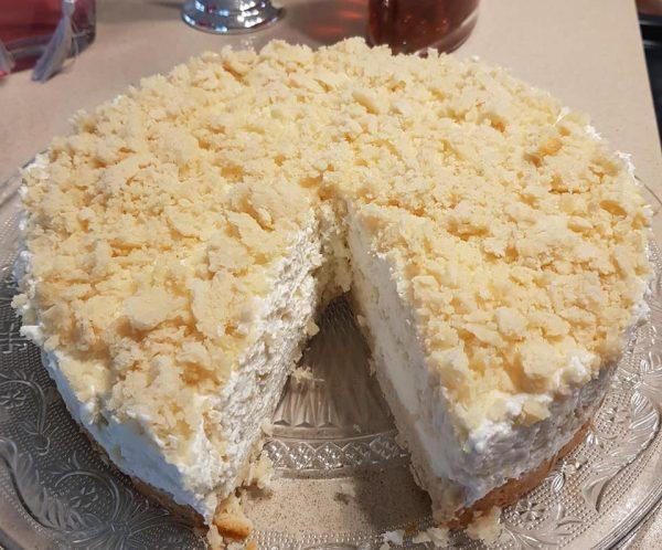 עוגת שמנת פירורים( גרסה נוספת)_מתכון של נורית יונה – מאסטר מתכונים