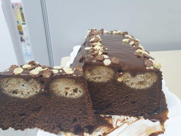 """עוגת שוקולד וכדורי גבינה_מתכון של אופירה פחימה יחיא ע""""י ירדנה ג'נאח – מאסטר מתכונים"""