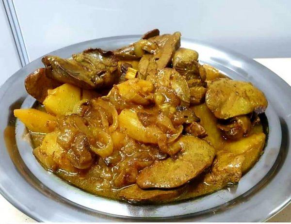 תבשיל כבד ותפוחי אדמה❤_מתכון של ירדנה ג'נאח – מאסטר מתכונים