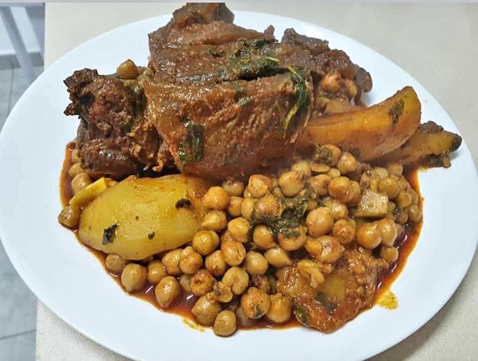 טבחה כמון עם בשר ראש חומוס ותפוחי אדמה ❤_מתכון של ירדנה ג'נאח – מאסטר מתכונים