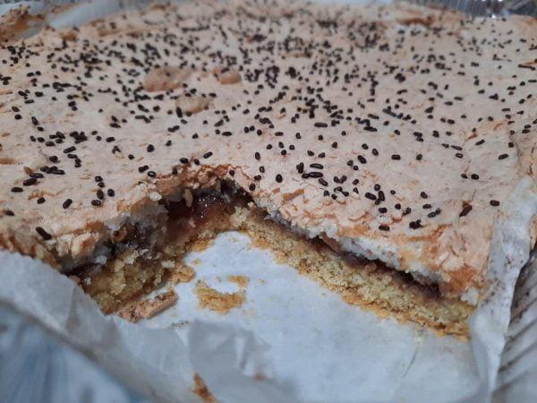 עוגה חלומית עם ריבה קצף אגוזים וקוקוס_מתכון של גילה כהן אבני – מאסטר מתכונים