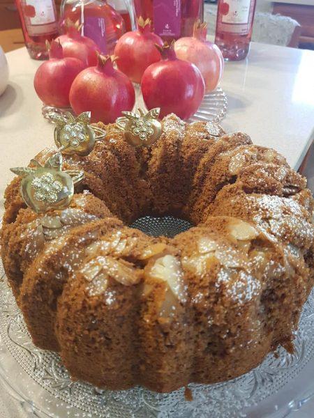 עוגת דבש מתובלת באניס וקינמון_מתכון של נורית יונה – מאסטר מתכונים