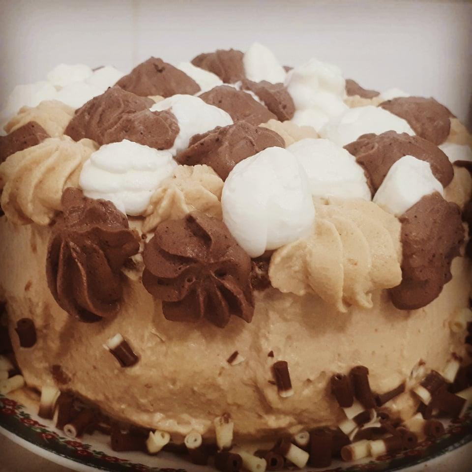 עוגת מוקה חלומית🏵_מתכון של צופית בן יוסף – מאסטר מתכונים