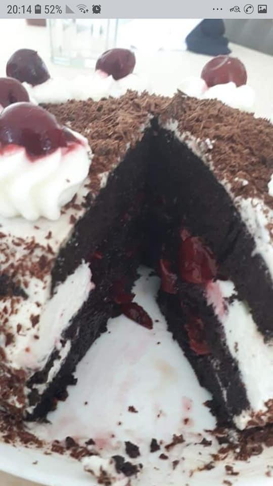 עוגת היער השחור🍰_מתכון של צופית בן יוסף – מאסטר מתכונים