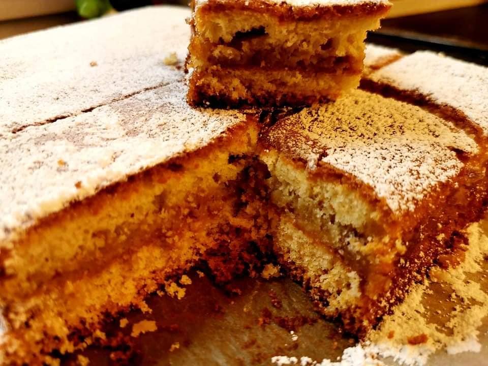 עוגת תפוחים…. מומלצת לשבת❤_מתכון של ברכה זולינג – מאסטר מתכונים