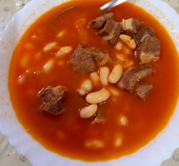 מרק שעועית לבנה עם בשר 🍲🍅_מתכון של תהילה גיל – מאסטר מתכונים